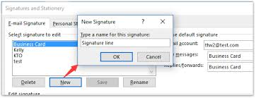 How To Create Business Cards In Word How To Create An Outlook Signature Line In Word