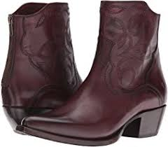 womens boots usc frye boots embroidered shipped free at zappos