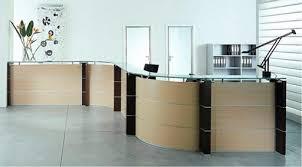 comptoir de bureau acca organisation produit bureau avec comptoir d accueil courbe