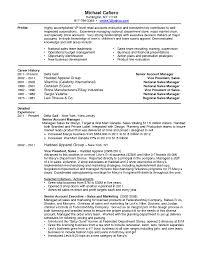 National Sales Director Resume Resume Fashion Sales Resume