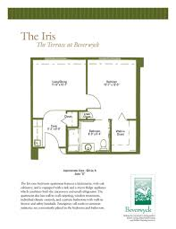 the terrace at beverwyck floor plans for assisted living