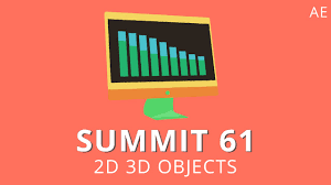 summit 61 2d 3d objects after effects youtube