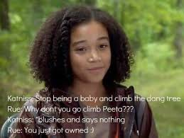 Hunger Games Memes Funny - rue from the hunger games images you just got owned by rue