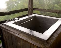Square Bathtub by Japanese Soaking Tubs Japanese Baths Outdoor Soaking Tub