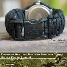 survival bracelet watches images Paracord survival compass bracelet watch solar power engine jpg