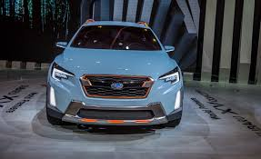 subaru crosstrek grill subaru xv concept pictures photo gallery car and driver