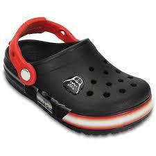 star wars crocs light up boys crocs clogs star wars darth vader light saber junior size 1 2 3