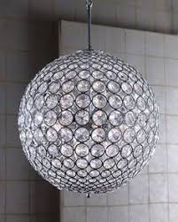 Horchow Chandeliers The Golden Globe Crystal Ball Chandelier Range Features Glorious
