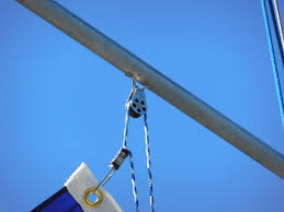 How To Hoist A Flag Make A Flag Halyard To Fly Your Favorite Colors U2013 The Tingy Sailor