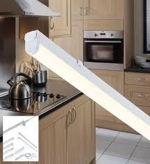 linkable under cabinet lighting knightsbridge ucled9 led under cabinet striplight cool white