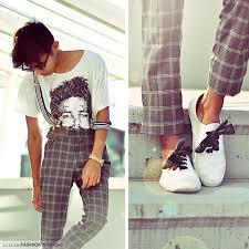 ribbon shoe laces kenneth licon vintage clubmaster zara graphic tshirt