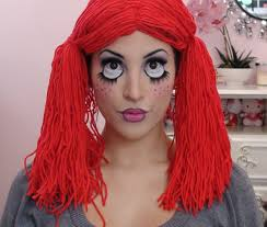 Diy Makeup Halloween by Cute Rag Doll Toy Halloween Makeup Tutorial Videos Tutorials