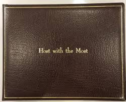 leather guest book leather guest books premium quality wedding or home sterling