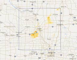 Omaha Nebraska Map Interactive Hail Maps Available Regions