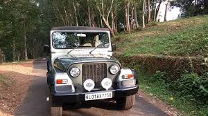modified mahindra jeep modified mahindra thar crde 4x4 suv after hardtop fitment walk