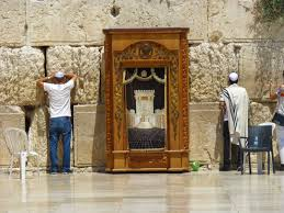 gunthers in jerusalem thursday 17 july 2014 visitng western wall it is called that because it is the western wall of the original temple mount it is the spot that is closest to where the original holy of holies had been