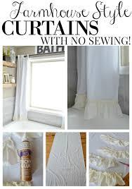 kitchen curtain ideas diy diy no sew kitchen curtains integralbook com