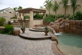 outdoor kitchen designs with pool polynesian swimming pools photo gallery polynesian swimming pools