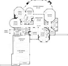 small luxury floor plans baby nursery courtyard house plan mission style house plans with