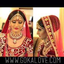 Bridal Makeup New York Makeup Hair And Dupatta Setting For An Indian Wedding Boston