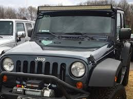 jeep jk light bar brackets jeep wrangler jk 2007 2016 led light bar with mounting brackets