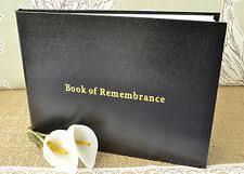 memorial book funeral memorial books ebay