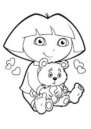 dora coloring pages for toddlers dora explorer coloring pages images coloring pages new the explorer