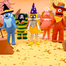 halloween yo gabba gabba video clip s1 ep 110
