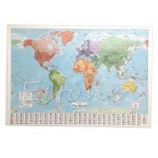 China World Map by Popular World Map Decor Buy Cheap World Map Decor Lots From China