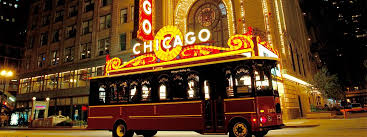 chicago trolley holiday lights tour chicago trolley double decker tours chicago il