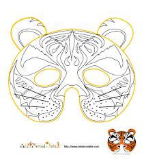 masque carnaval coloriage hibou enfant fabrication masques faire