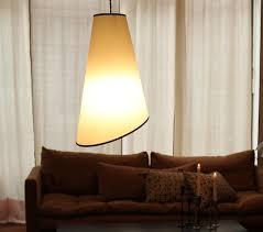 Paper Hanging Lamp Caravane Pali White Paper Hanging Lamp