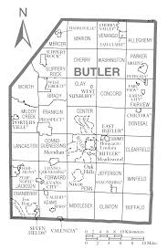 Map Of Lancaster Pa File Map Of Butler County Pennsylvania Png Wikimedia Commons