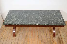 art deco coffee table with green marble surface at 1stdibs glass