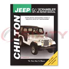 jeep repair manual jeep cj5 chilton repair manual renegade limited laredo base golden