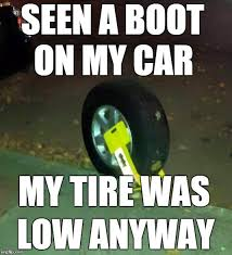 Low Car Meme - image tagged in boot imgflip