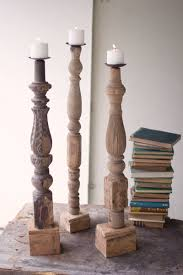 Large Floor Candle Stands by Room Lighting