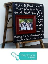 40th wedding anniversary gifts for parents emejing 50th wedding anniversary picture frames images styles