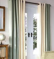 hanging curtains over sliding glass door door curtains rods u0026 graceful sliding glass door curtains 2016