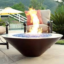 Copper Firepit Buy A Custom 60 Inch Cono Moreno Hammered Copper Pit