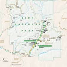 Olympic National Park Map Zion National Park Official Map My Utah Parks