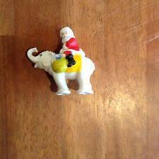 Vintage Christmas Cake Decorations Ebay by 94 Vintage Bisque Pair Of Elves Pixies On Rocking Horse Cake