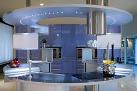 italian kitchen furniture by snaidero acropolis kitchen by pininfarina design with blue wall cabinets by