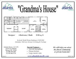 grandma u0027s house u2013 atlantis homes
