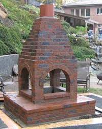 Chiminea With Pizza Oven Build An Outdoor Brick Grill Chimineas And Fireside Escapes