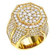 mens engagement rings jewelry 14k gold men u0027s diamond ring 7ct by luxurman
