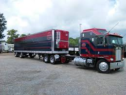 kenworth k100 coe kenworth custom k100 with matchin reefer semi crazy