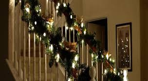 Christmas Railing Decorations 15 Ideas For Christmas Staircase Decorating House Interiors