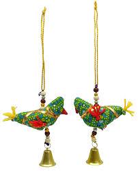 rajasthani wall hanging handmade crafting ethnic bird design toran