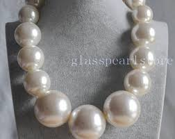 big pearl choker necklace images Big pearl necklace etsy jpg